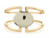 Gold Stone Cuff - New Look - €3.60